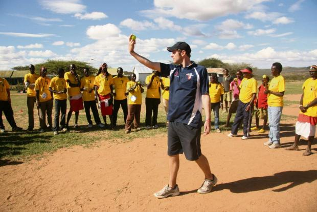 Luke Sellers taking the Lechlade coaching ethos to Africa