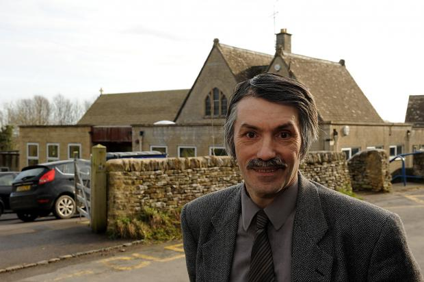 David Broad, chairman of the Village Hall Committee