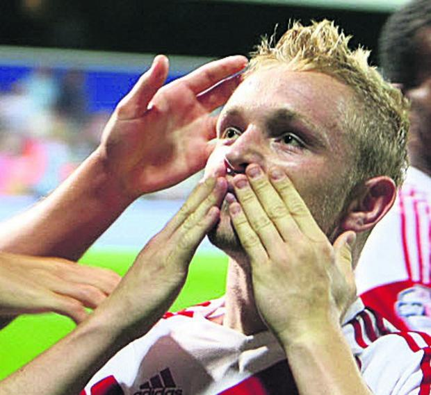 Alex Pritchard - another well deserved goal
