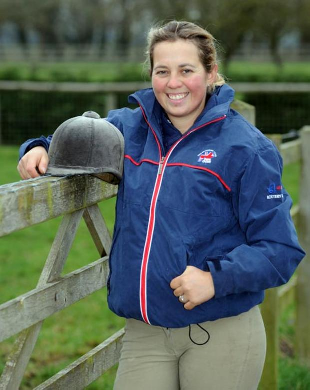 Wilts and Gloucestershire Standard: Top eventer Kitty King