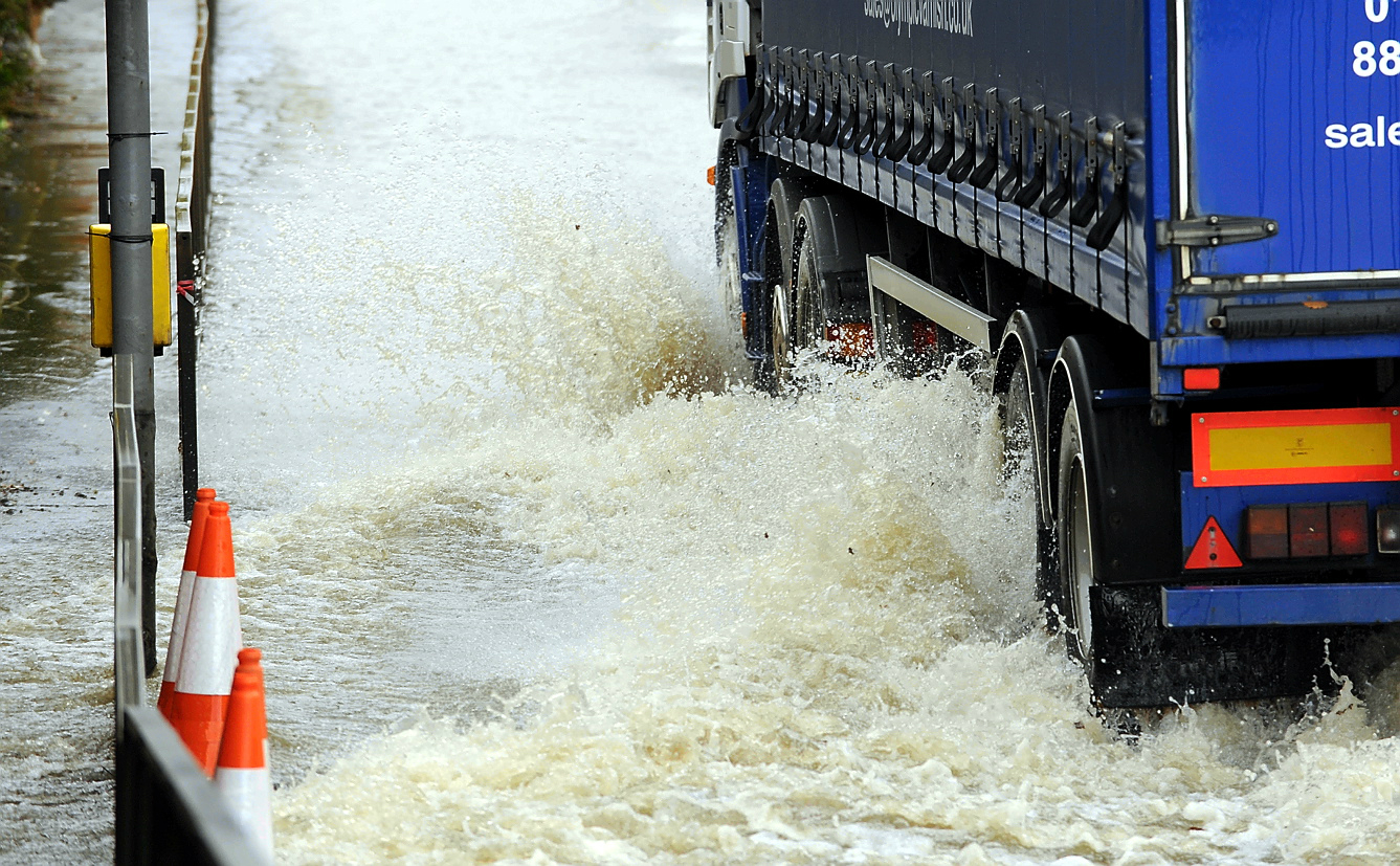 Drivers urged to take care as floods close roads