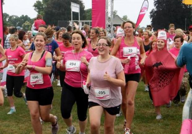 Cirencester's Race for Life 2013