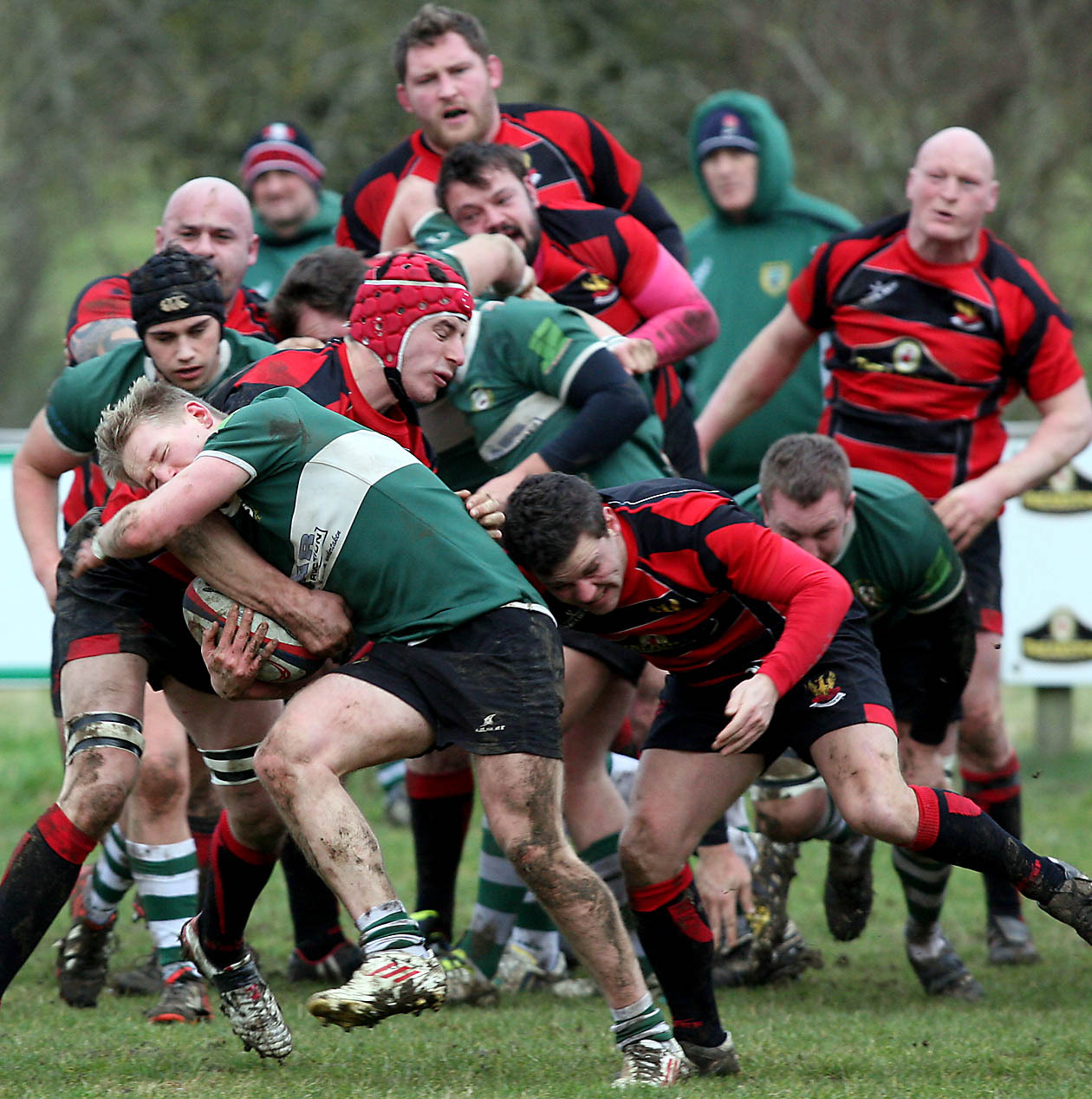 RUGBY: Conditions win out in low-scoring draw at Ciren