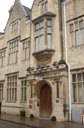 Cirencester Town Council offices at Bingham House in Cirencester's Dyer Street