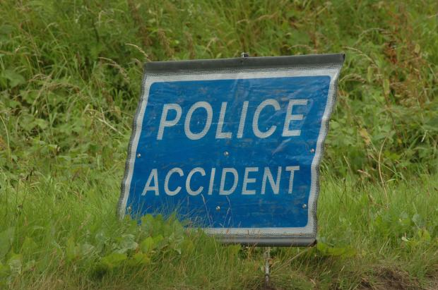 Man taken to hospital after being cut free from car following two vehicle collision on the A429 near Northleach