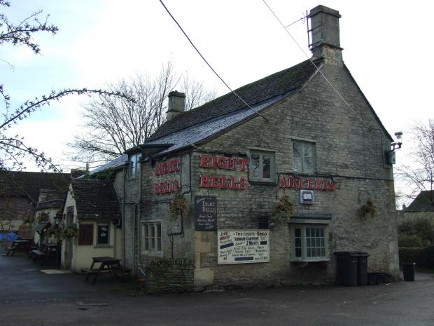 The Eight Bells in Fairford