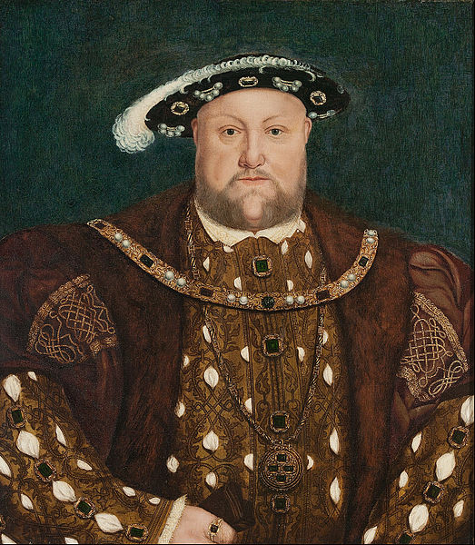 Wilts and Gloucestershire Standard: king henry viii