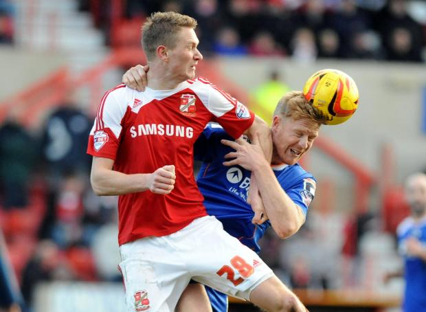 Swindon's Michael Smith has refound his goalscoring touch