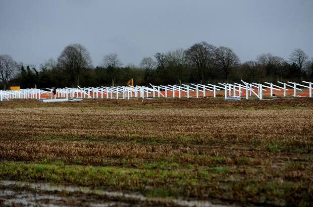 Building work begins on 75-acre solar farm close to Ampney Crucis
