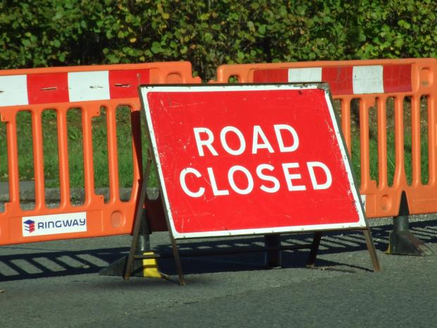 A417 at Bridlip closed both ways following three separate accidents