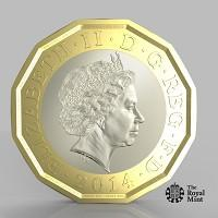 Wilts and Gloucestershire Standard: The new one pound coin announced by the Government will be the most secure coin in circulation in the world (HM Treasury/PA)