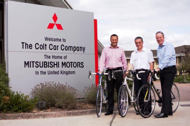 Charity cyclists from Mitsubishi in Cirencester to take part in 100km bike ride