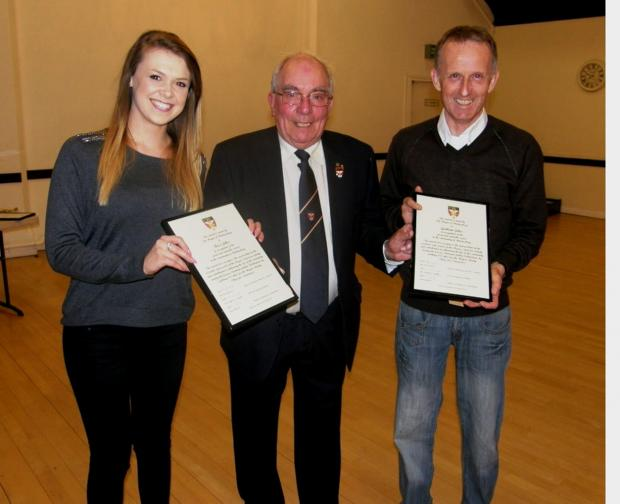 Awards for above and beyond service to Malmesbury