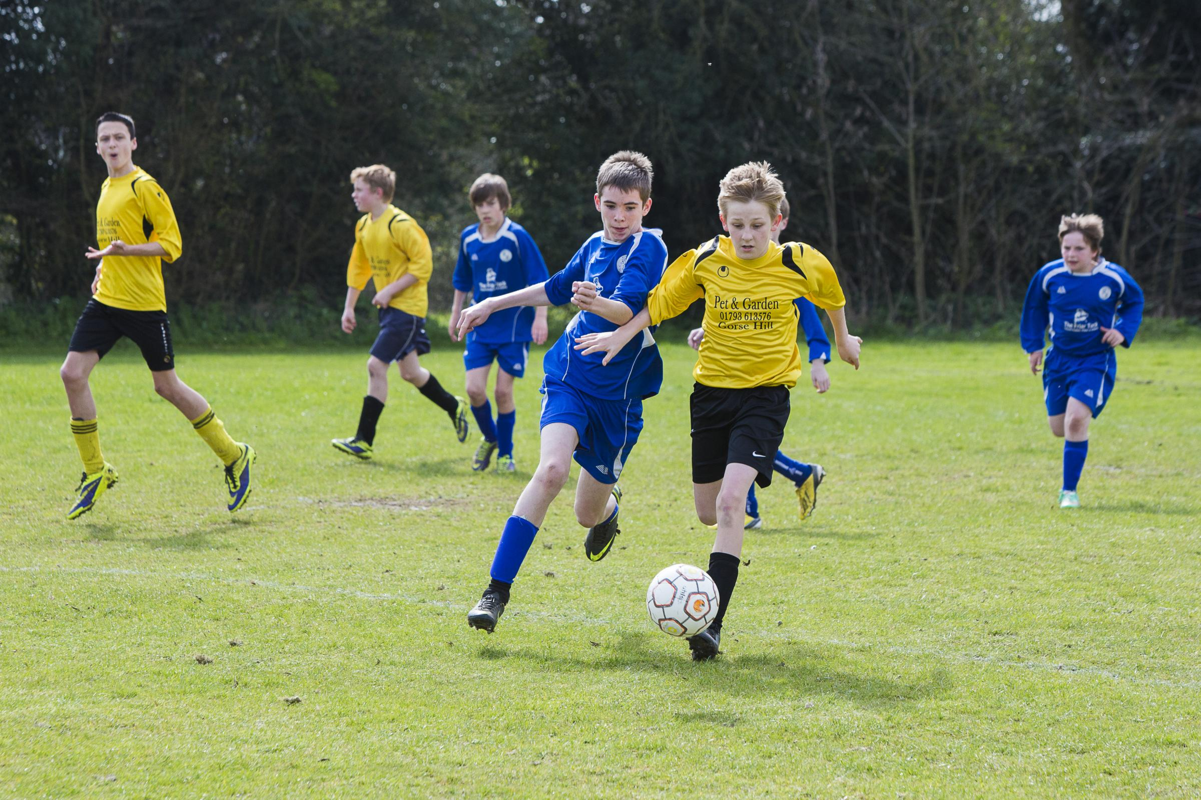 YOUTH FOOTBALL: Day's double act earns Stratton local derby win