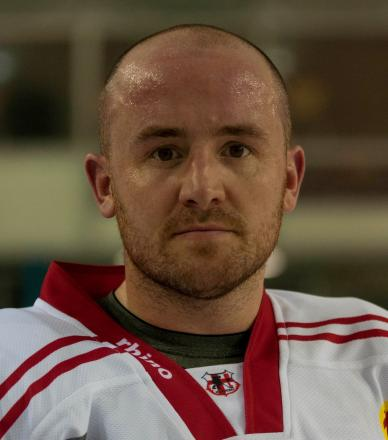 Swindon Wildcats coach Ryan Aldridge