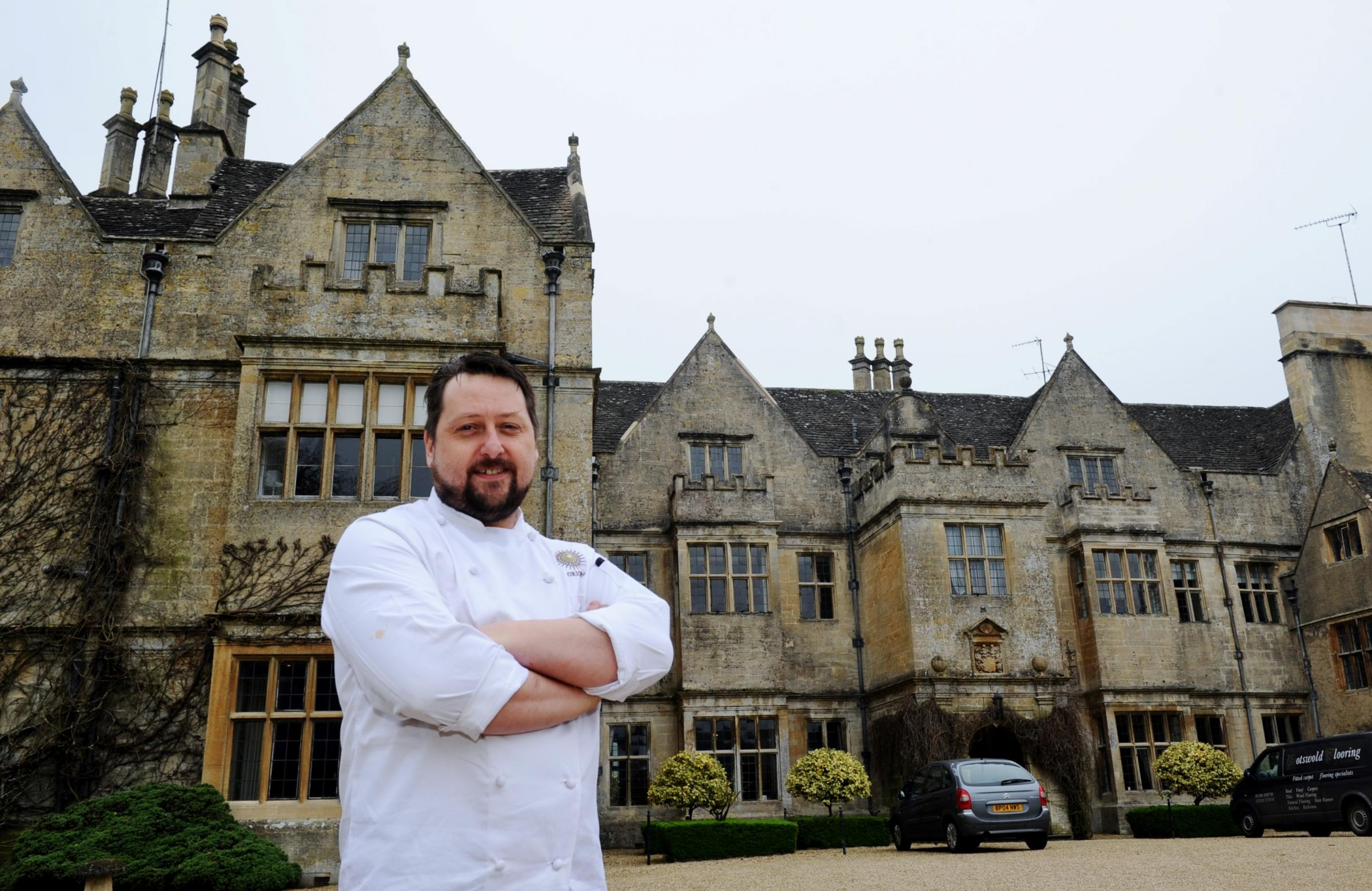 Bibury chef celebrates place in top food guide