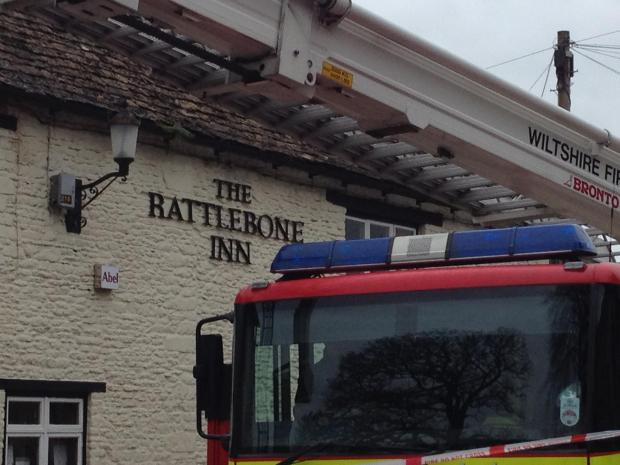 Pop up pub for village left dry by blaze