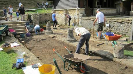 Wilts and Gloucestershire Standard: chedworth roman villa