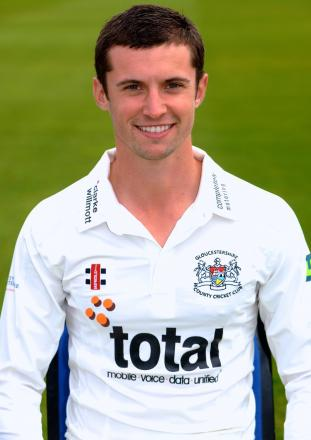 Gloucestershire cricketer Dan Housego who will be mentoring the county U11s