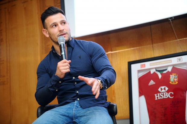 England's Six Nations rugby ace Danny Care
