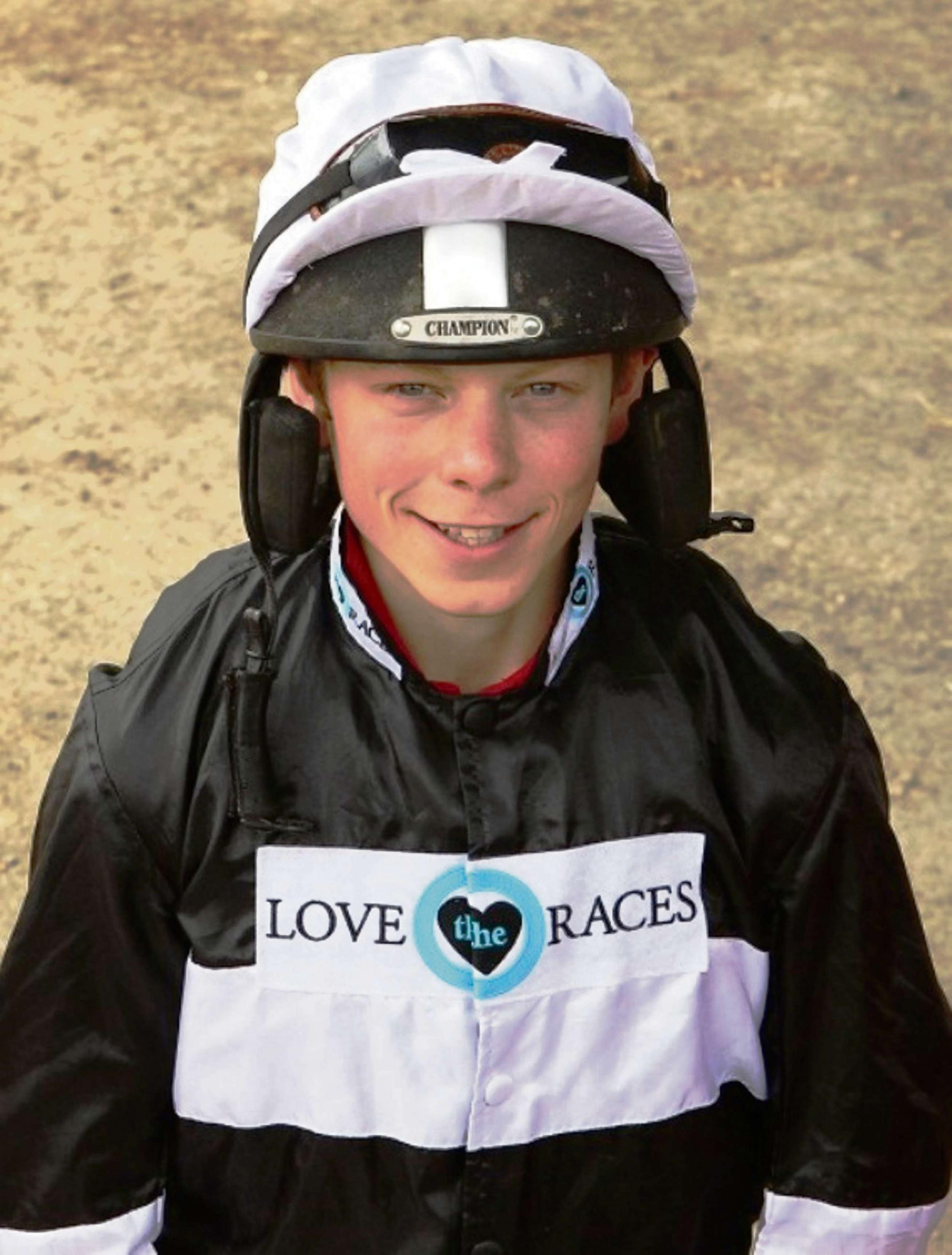 Conditional jockey and Standard columnist Conor Shoemark