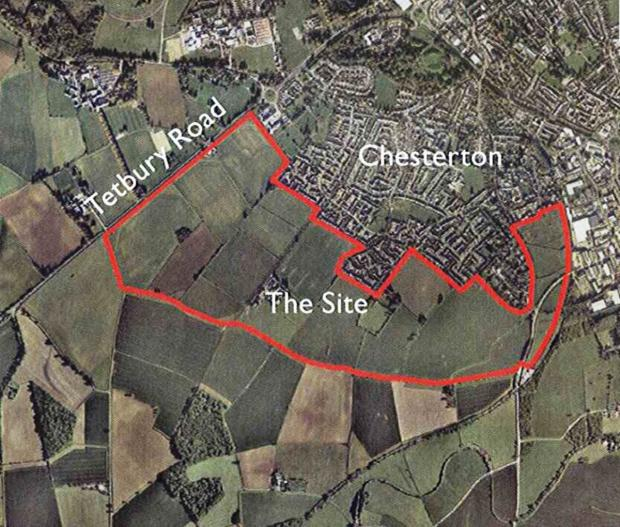 Developers behind Chesterton expansion in Cirencester seek local views