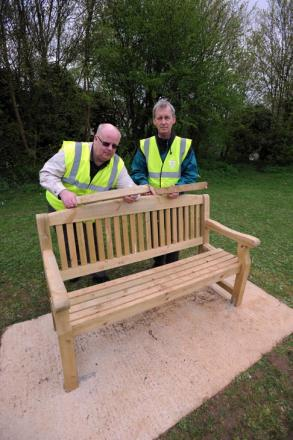 Community benches in Cirencester attacked by vandals twice in two weeks