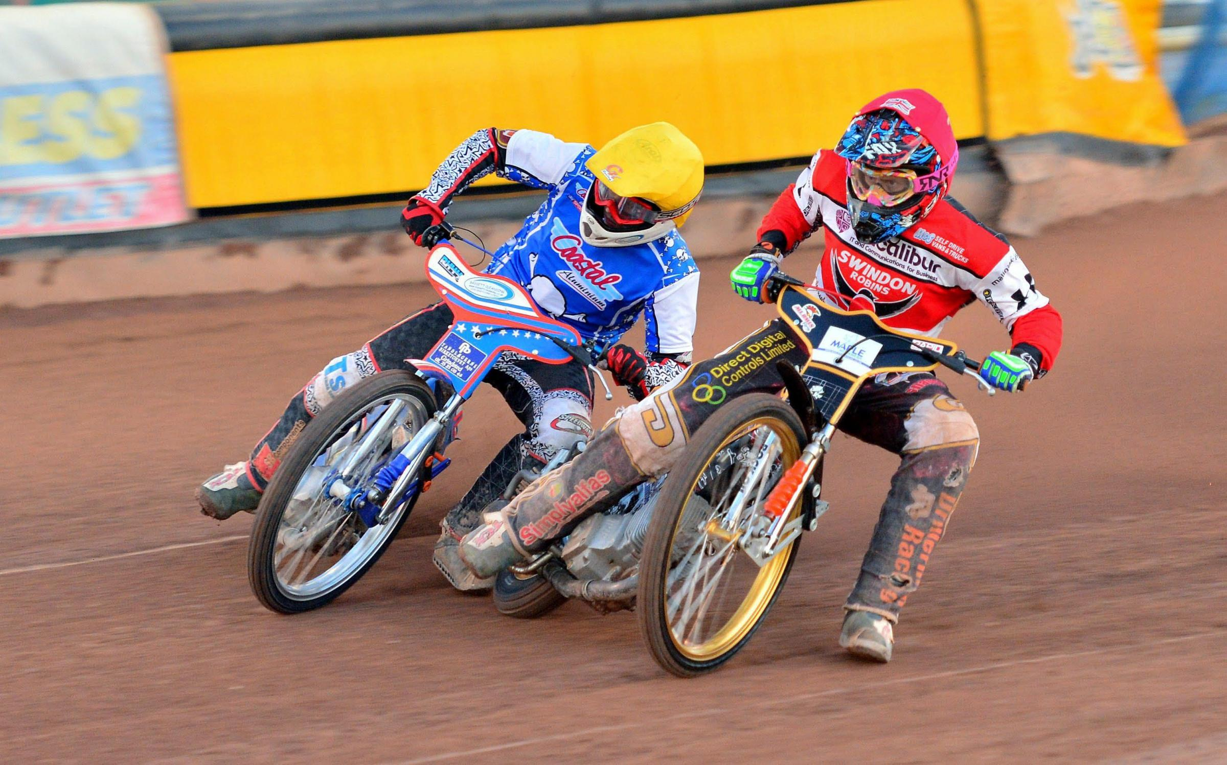 SPEEDWAY: Double trouble for the Swindon Robins