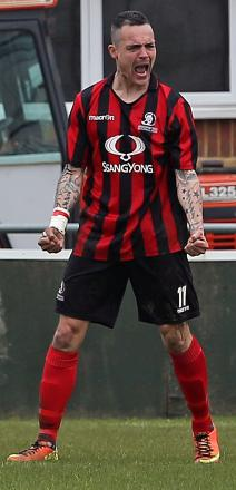 Prolific former Cirencester Town striker Lee Smith