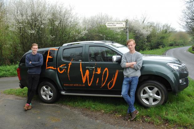 Ampney Crucis brothers win Countryside Alliance Award for meat supplier business Eat Wild