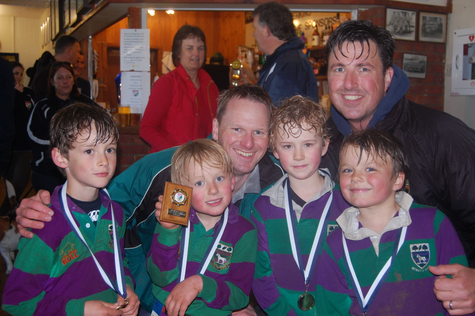 YOUTH RUGBY: Minety U7s just miss out in Avonvale Festival final