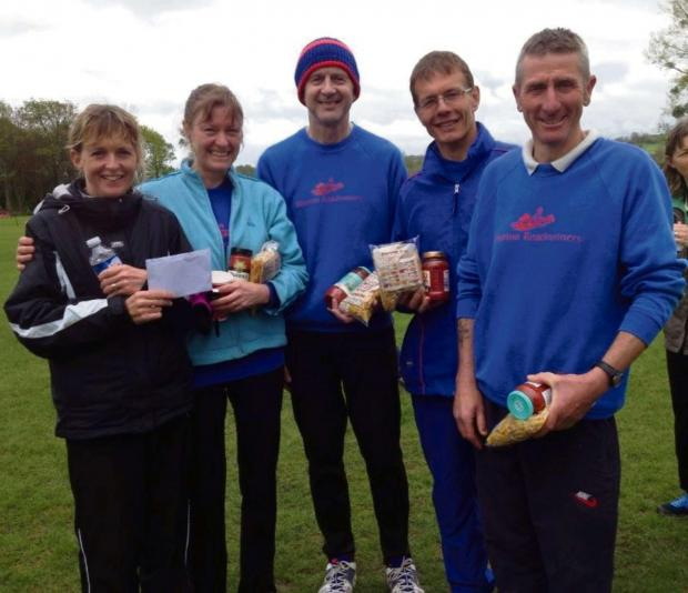 Wilts and Gloucestershire Standard: Prize-winning Bourton Roadrunners at the Ang