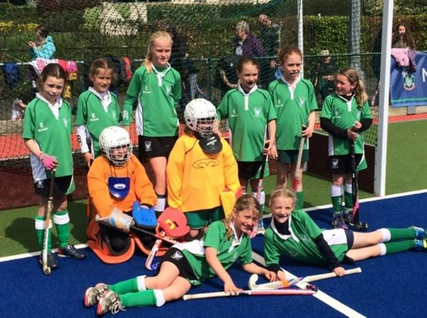 Cirencester Hockey Club U10s who finished runners-up at the West of England Regional Finals in Somerset