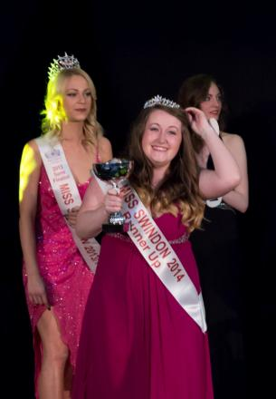 Jade Dando takes runner up in the 2014 Miss Swindon contest Pic:CMG Photography