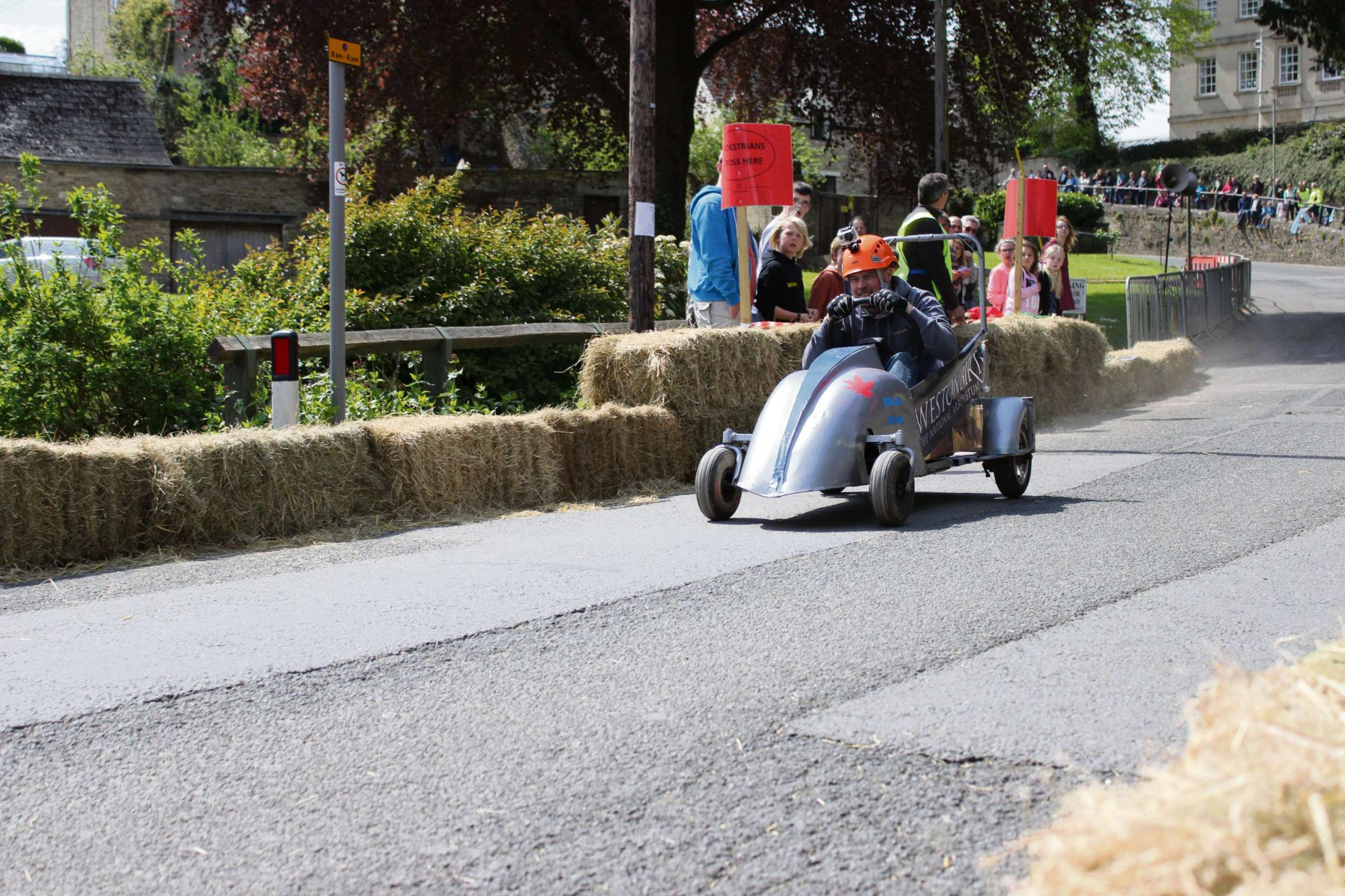 Soap-box derby takes to the streets of Tetbury