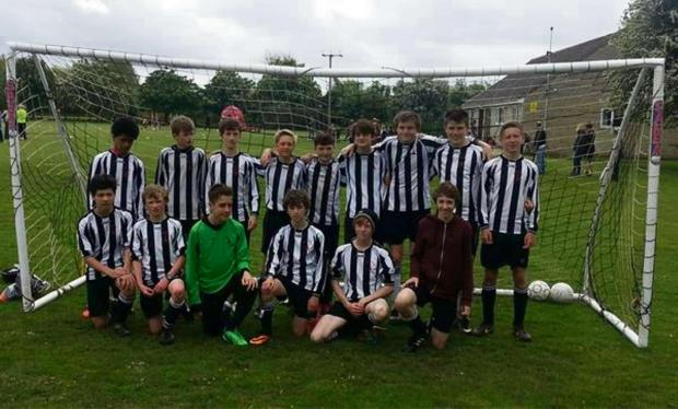 The championship-winning Ashton Keynes U14s side, who dominated their North Wilts League