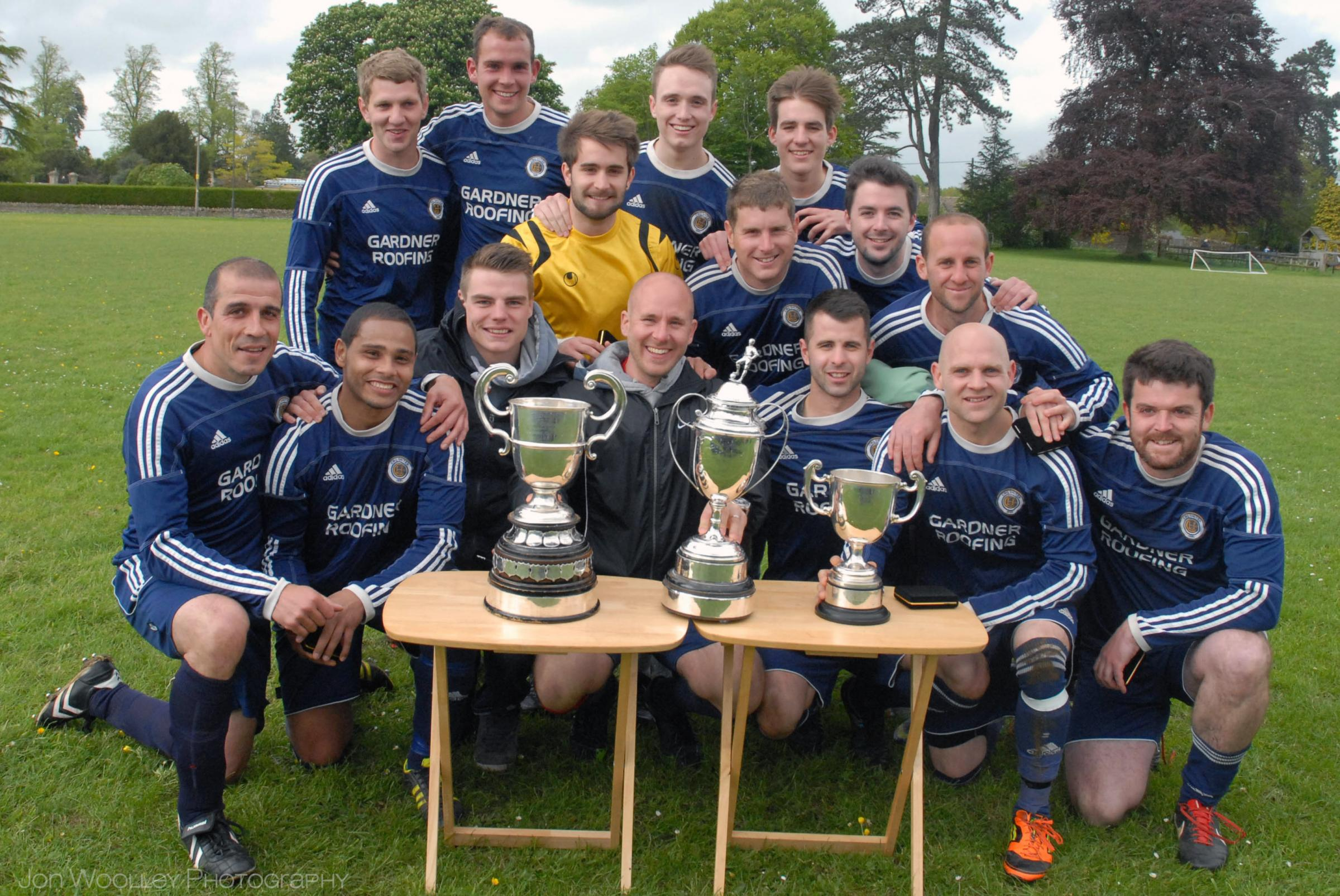 FOOTBALL: CHQ Utd end their championship-winning season with an avalanche of goals