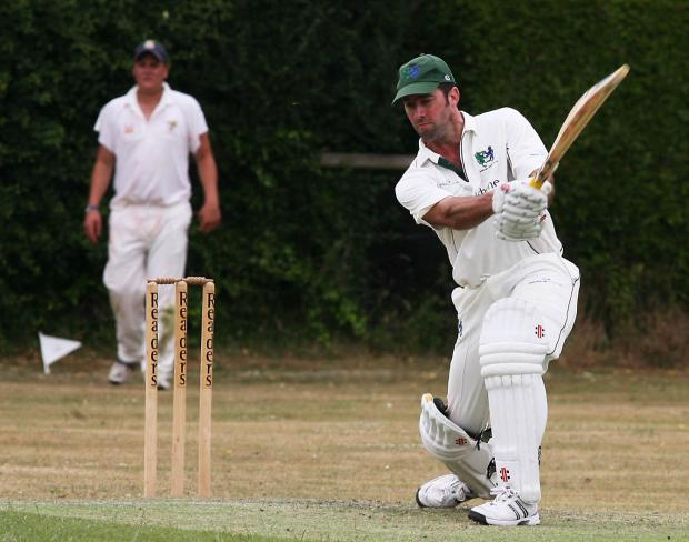 Another good knock by Lee Clark for Fairford firsts in their win at Dymock (9128328)
