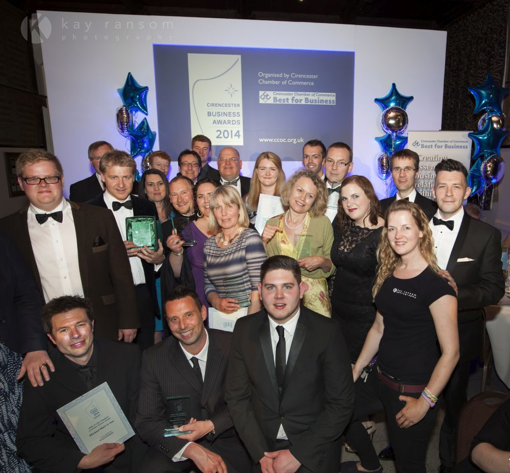 Successful companies celebrated at Cirencester Business Awards 2014