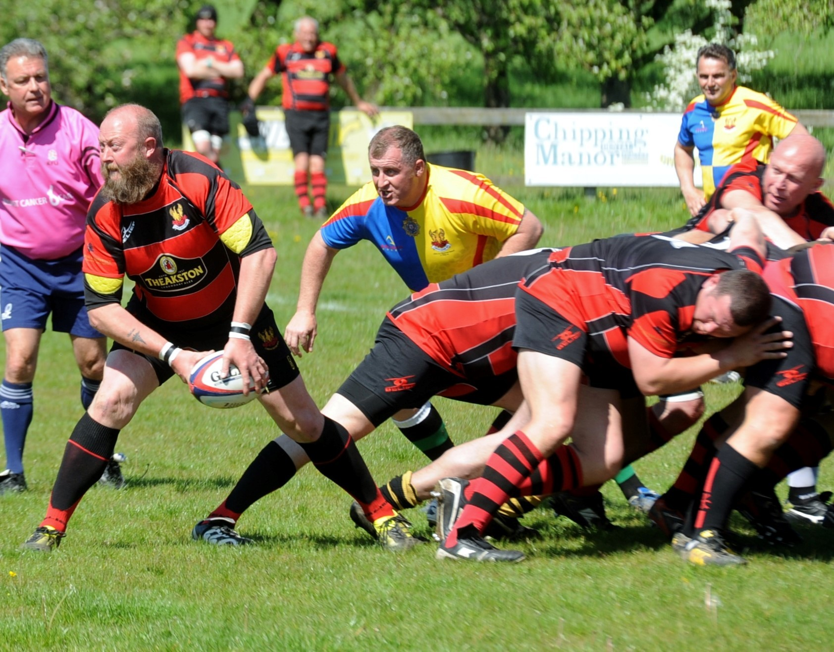 RUGBY: Chris Cox remembered in style by Cirencester Vets