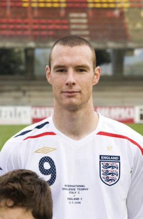 James Constable when playing for England C