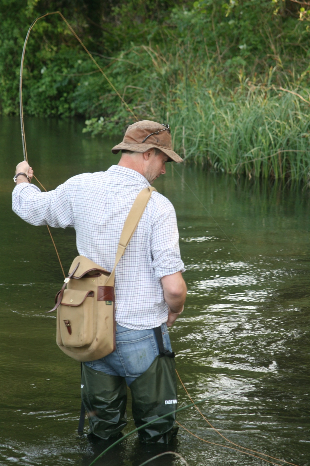 Our angling correspondent Jon Berry