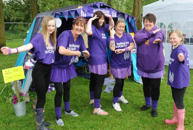 Lechlade dancers strut their stuff to raise £1,400 for charity