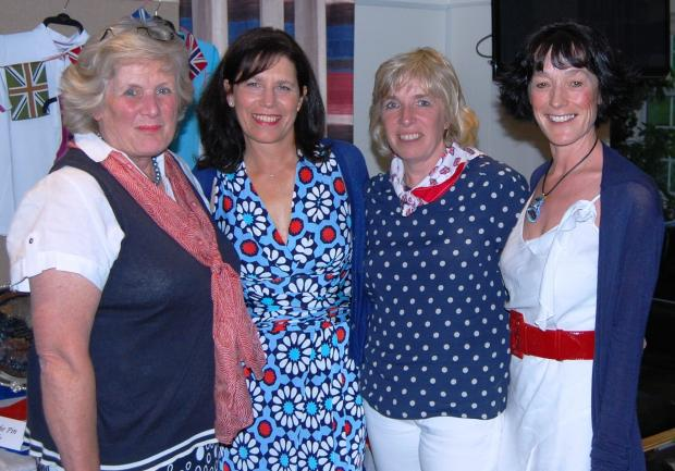 Best of British Bowmaker winners at Cirencester Golf club (left to right): Pam Mallinson, Paula Lester-Powell (lady captain), Debbie Chesworth, Jan Flynn