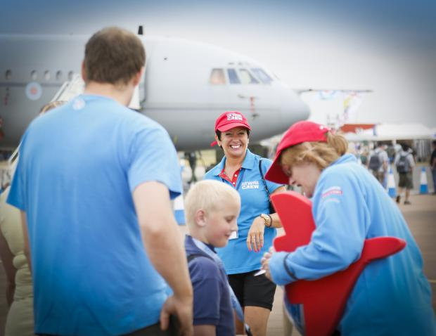 Volunteers needed for RIAT this summer