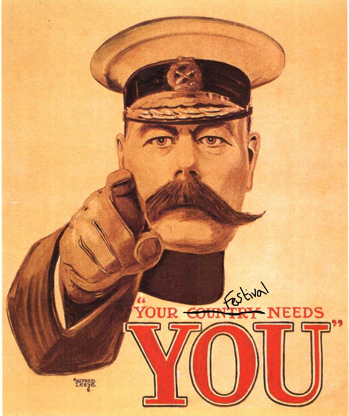 Your festival needs you!