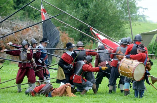Civil War history brought to life in Malmesbury
