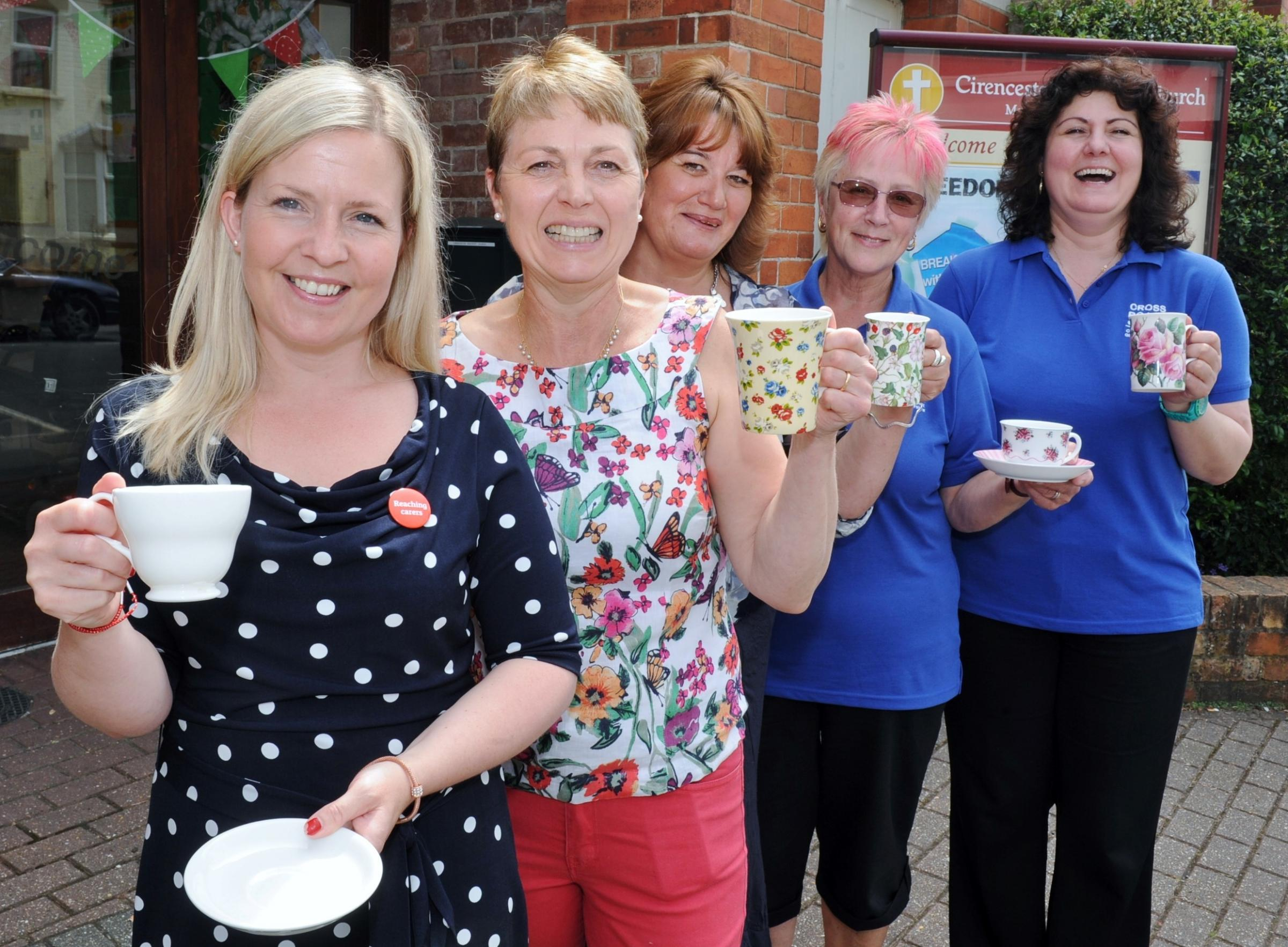 Carers praised at Cirencester tea party