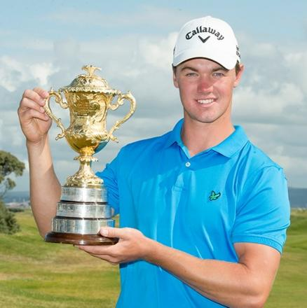 The victorious Ben Stow from Wiltshire. Picture: Leaderboard Photography