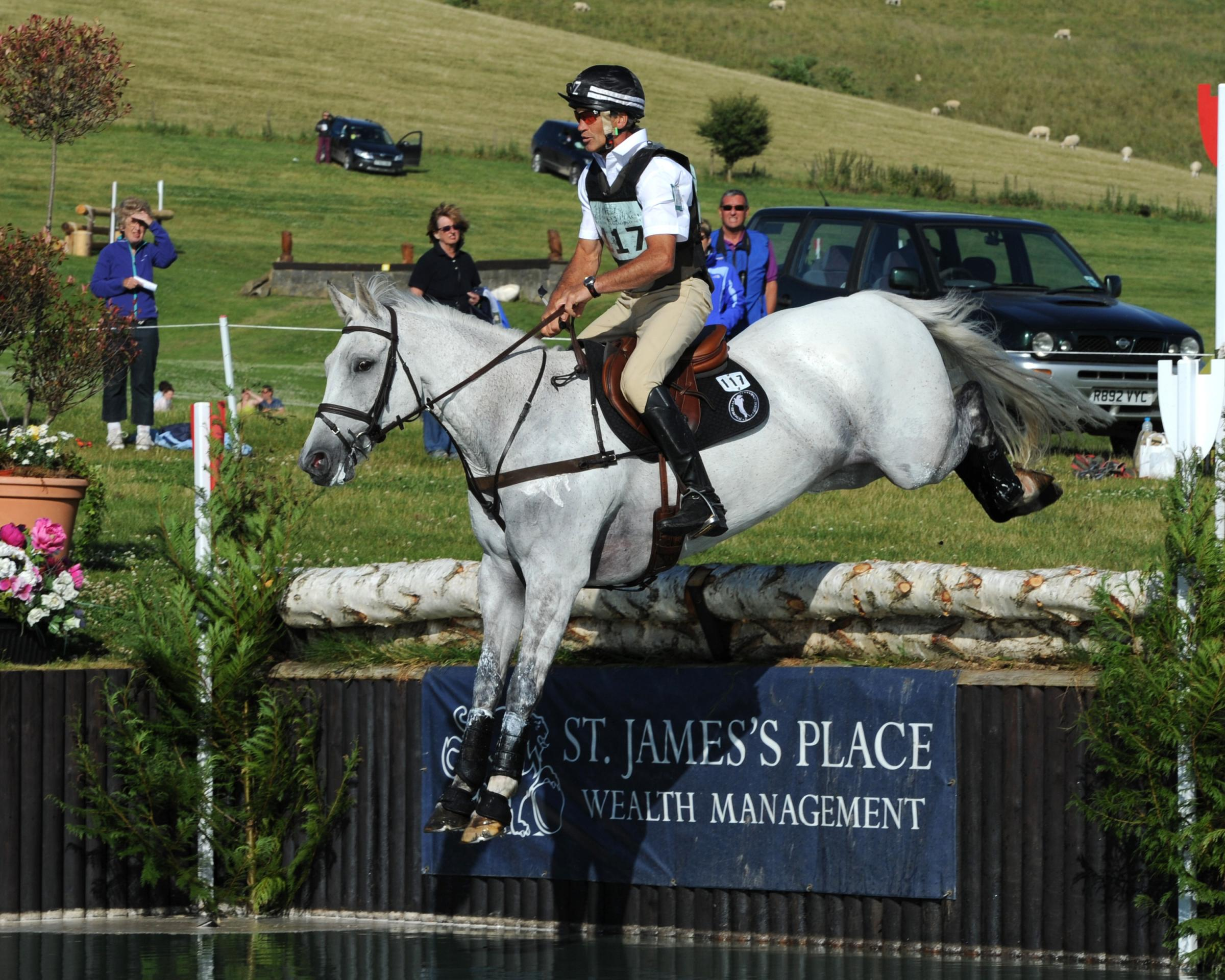 EQUESTRIAN: Andrew Nicholson and Avebury make history with Barbury hat-trick